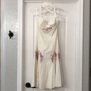 Betsey Johnson Embroidered Dress